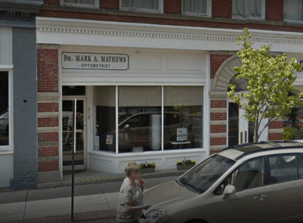 Dr  Mark Mathews O D  | Downtown Fremont, Ohio